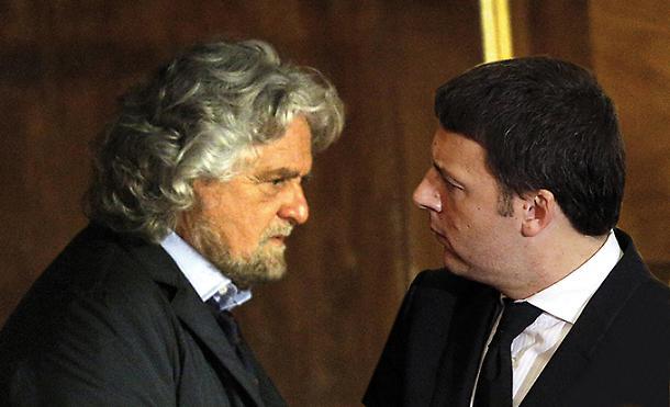 Grillo firma il patto pro vaccini di Burioni sottoscritto anche da Renzi
